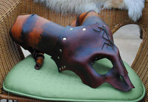 Commission: Horned One Mask 3 by Epic-Leather