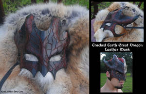 Cracked Earth G. Dragon Mask by Epic-Leather