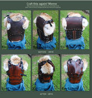 Draw (Craft) This Again: SCA Leather Breastplate by Epic-Leather