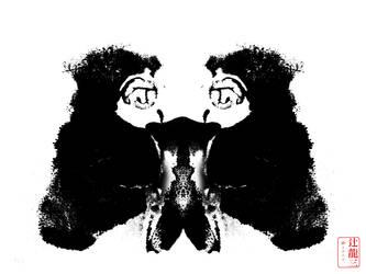 Iodaphor Rorscharch #1 by madshutterbug