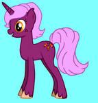 Sugar Candy pony OC by Ambrosia-Ashcrofte