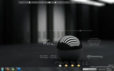 My Windows 7 Desktop by roca120290