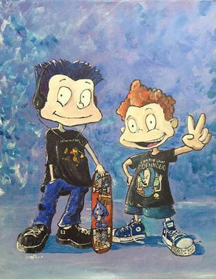 90s Kids, The Brothers Pickle by CwerkzStudios