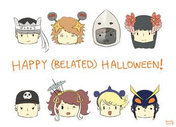 HAPPY -belated- HALLOWEEN by shihfu