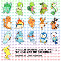 LOOK AT ALL THESE POKEMEN by shihfu
