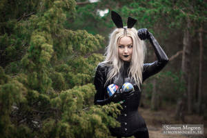 Easter Bunny III by Pandalie