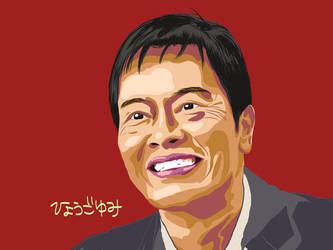 Japanese actor ENDO KENICHI by yumi71