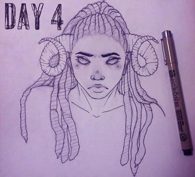 Inktober Day 4 by Vocaloid105