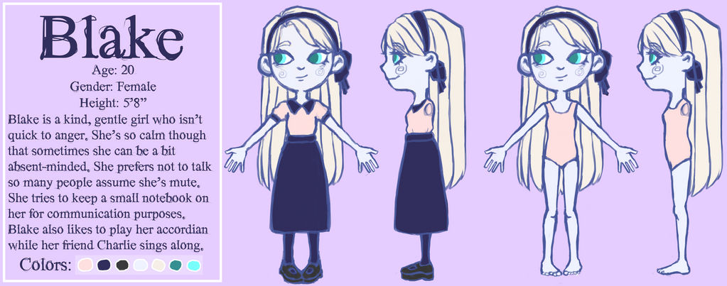 Blake Concept Art 2018 by Vocaloid105