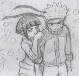 naruto and hinata by anime-lover34