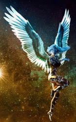 Starlight Angel by IceDragonArt