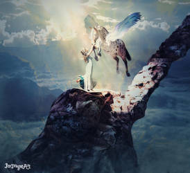 Beloved Companion by IceDragonArt