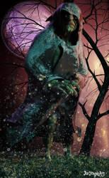 Night Traveler by IceDragonArt
