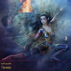 Temple Defender by IceDragonArt