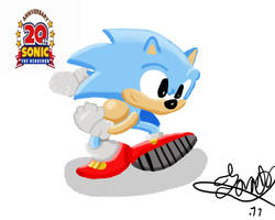 20 ans Sonic by Jonas-D