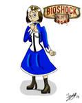 Bioshock Infinite Elizabeth by Jonas-D