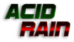ACID RAIN title by Jonas-D