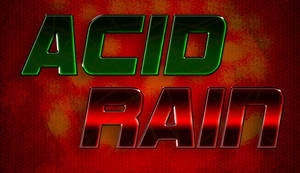 ACID RAIN title + background by Jonas-D