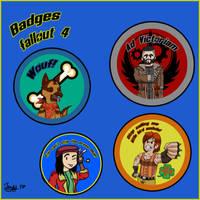 Badges Fallout 4 Visual by Jonas-D