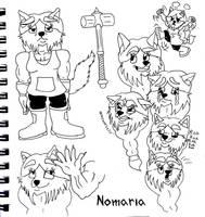 Nomaria [OC] by Jonas-D