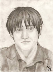 Portrait: Roy Mustang by katzypotter