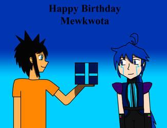 Happy Birthday Mewkwota by Willy276