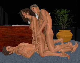 Robin and Mave 019 by Cosmics-3D-Angels