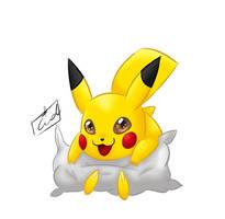 Pikachu by CidsBanana