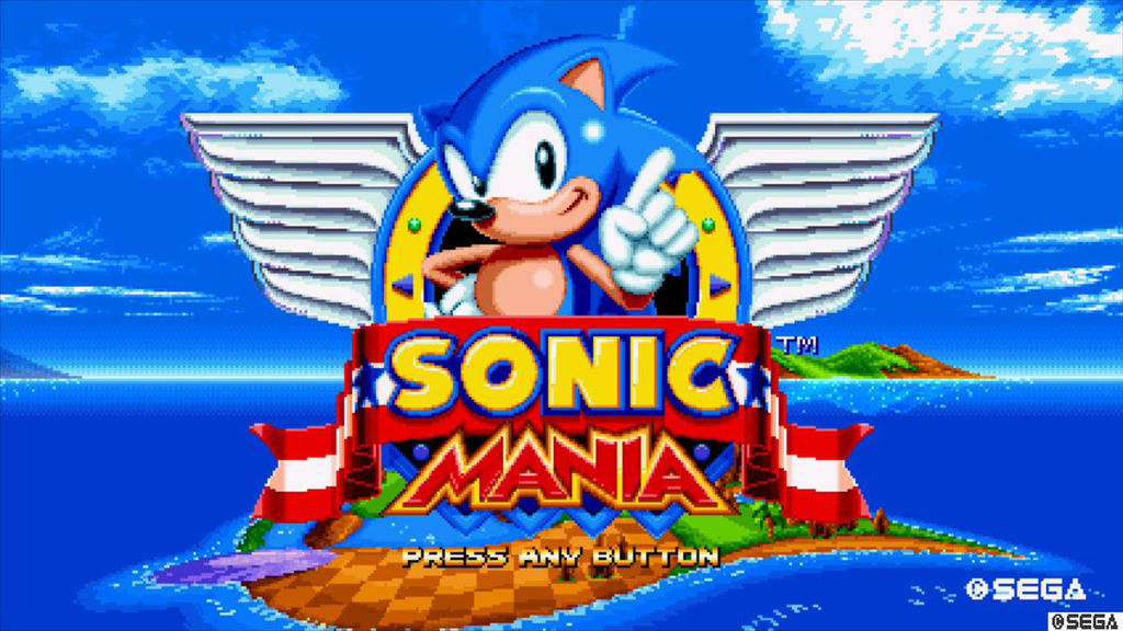 Sonic Mania Main Menu by 1ByteRak