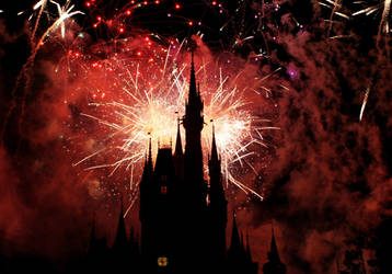 Disney Fireworks. by xheartsandcirclesx