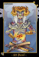 the devil tarot card by starplexus