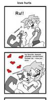 love hurts and bites noses by starplexus