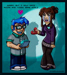 My Geeky Valentine by starplexus