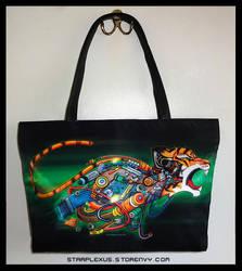 Growling Machine Handbag by starplexus