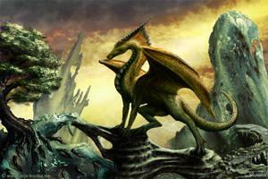 Fantasy Dragon by ArkaEdri
