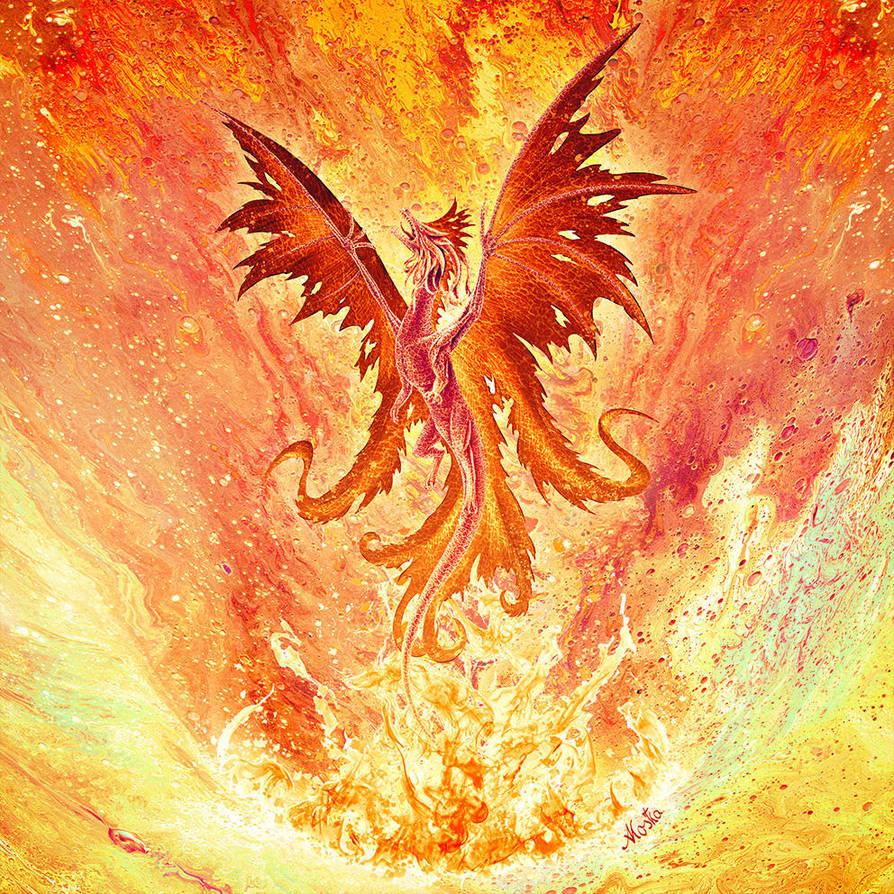 Feuerdrache by ArkaEdri