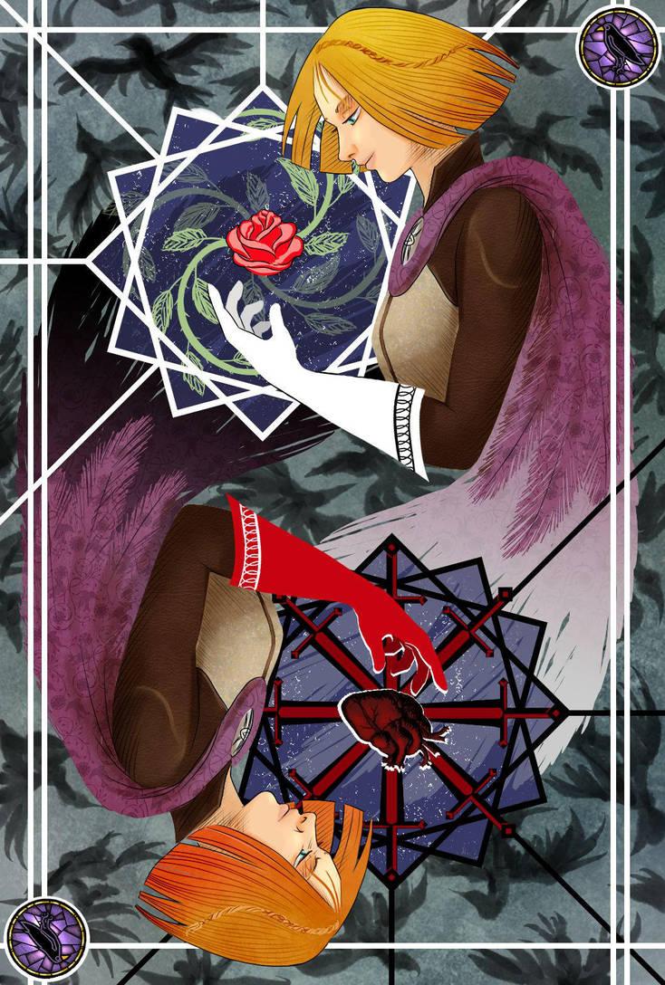 Leliana: barren branch,open heart,fear of darkness by Roksik