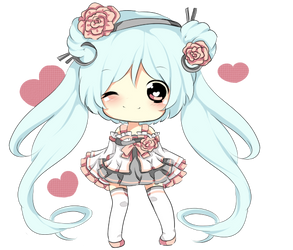 2ND CHIBI(ADOPTABLE SET ONLY) by Miyee
