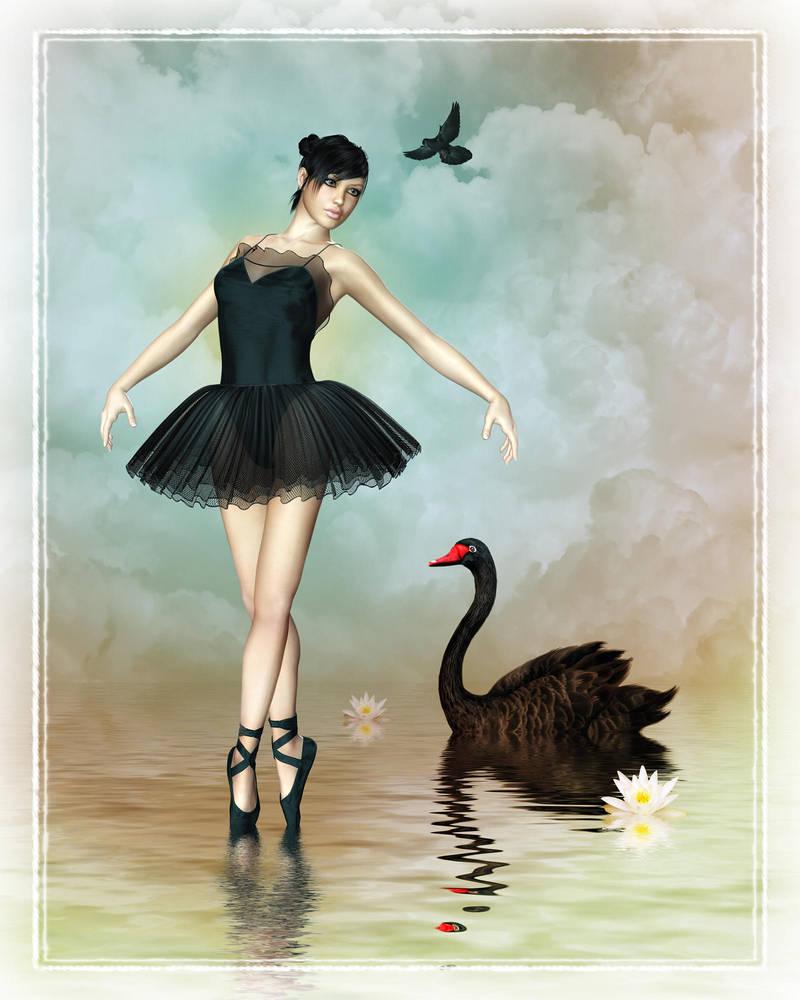 Black Swan by Roy3D