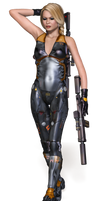 Female 02 PNG Stock by Roy3D