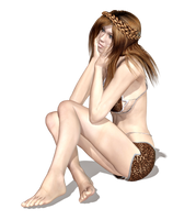 Female 15 PNG Stock by Roy3D