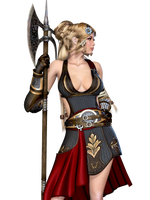 Female 18 PNG Stock by Roy3D