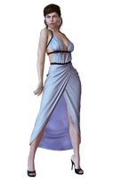Female 24 PNG Stock by Roy3D