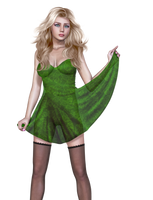 Female 28 PNG Stock by Roy3D