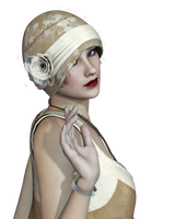 Female 30 PNG Stock by Roy3D
