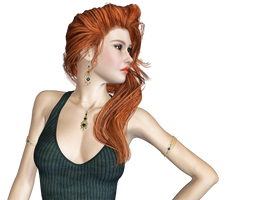 Female 50 PNG Stock by Roy3D