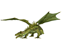 Dragon 13 PNG Stock by Roy3D