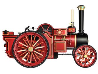 Steam Engine 03 PNG Stock by Roy3D