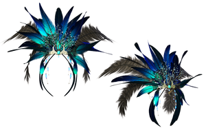 Headpiece 4 PNG Stock by Roy3D