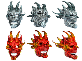 Masks PNG Stock by Roy3D